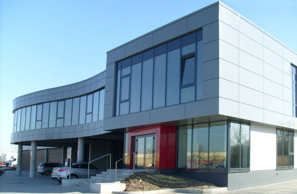 Neubau Verwaltung BÖHMER Verpackung & Vertrieb GmbH