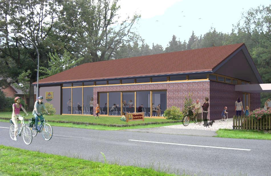 Neubau Dörfergemeinschaftshaus