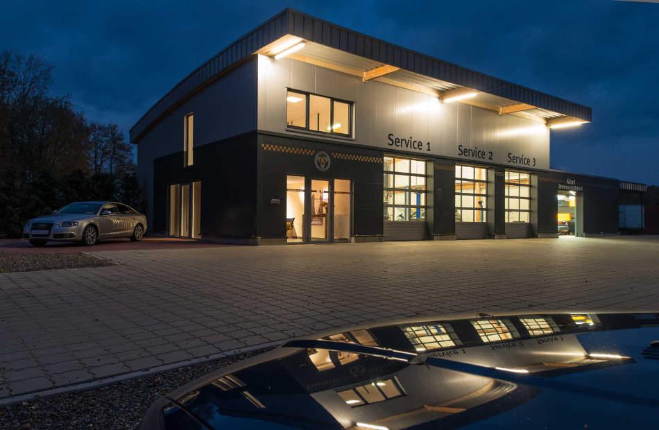 Neubau Autohaus Aureus