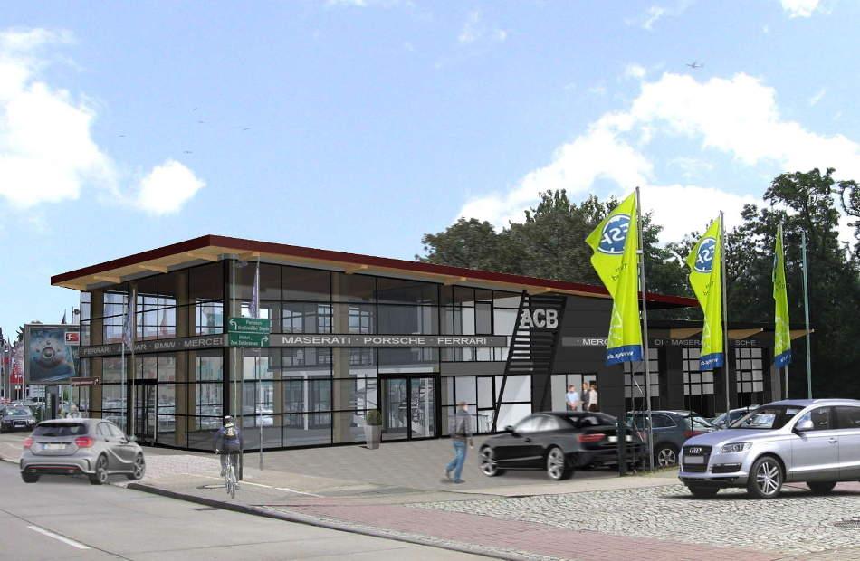 Neubau Autocenter Biesdorf