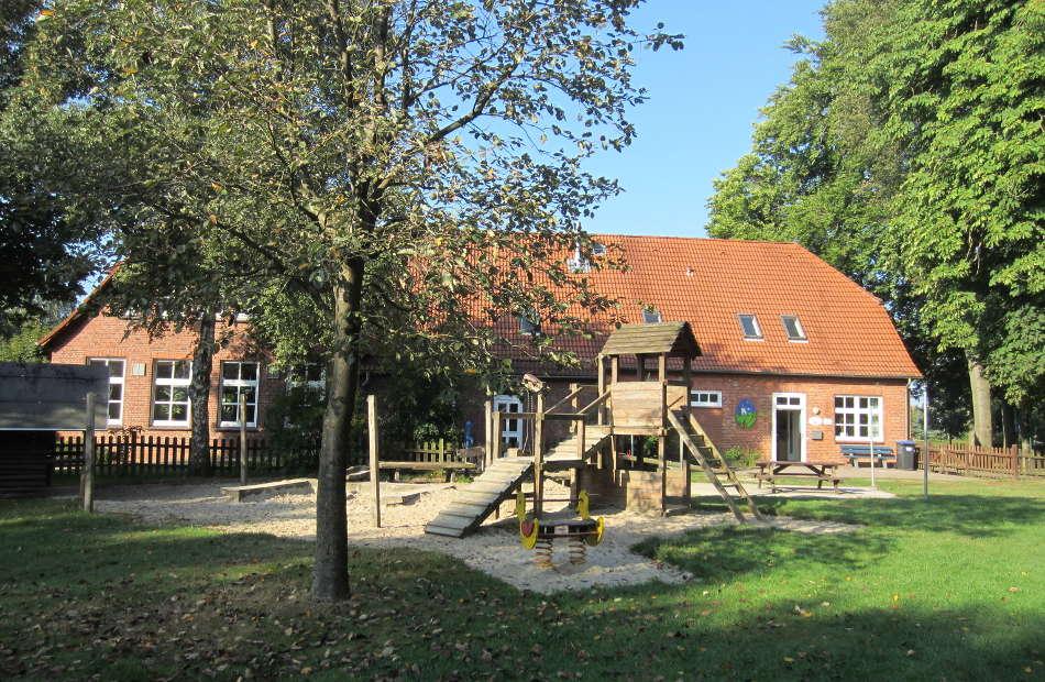 Az230 Vorher Kindergarten Umbau Dorfgemeinschaftsanlage Westerwesede