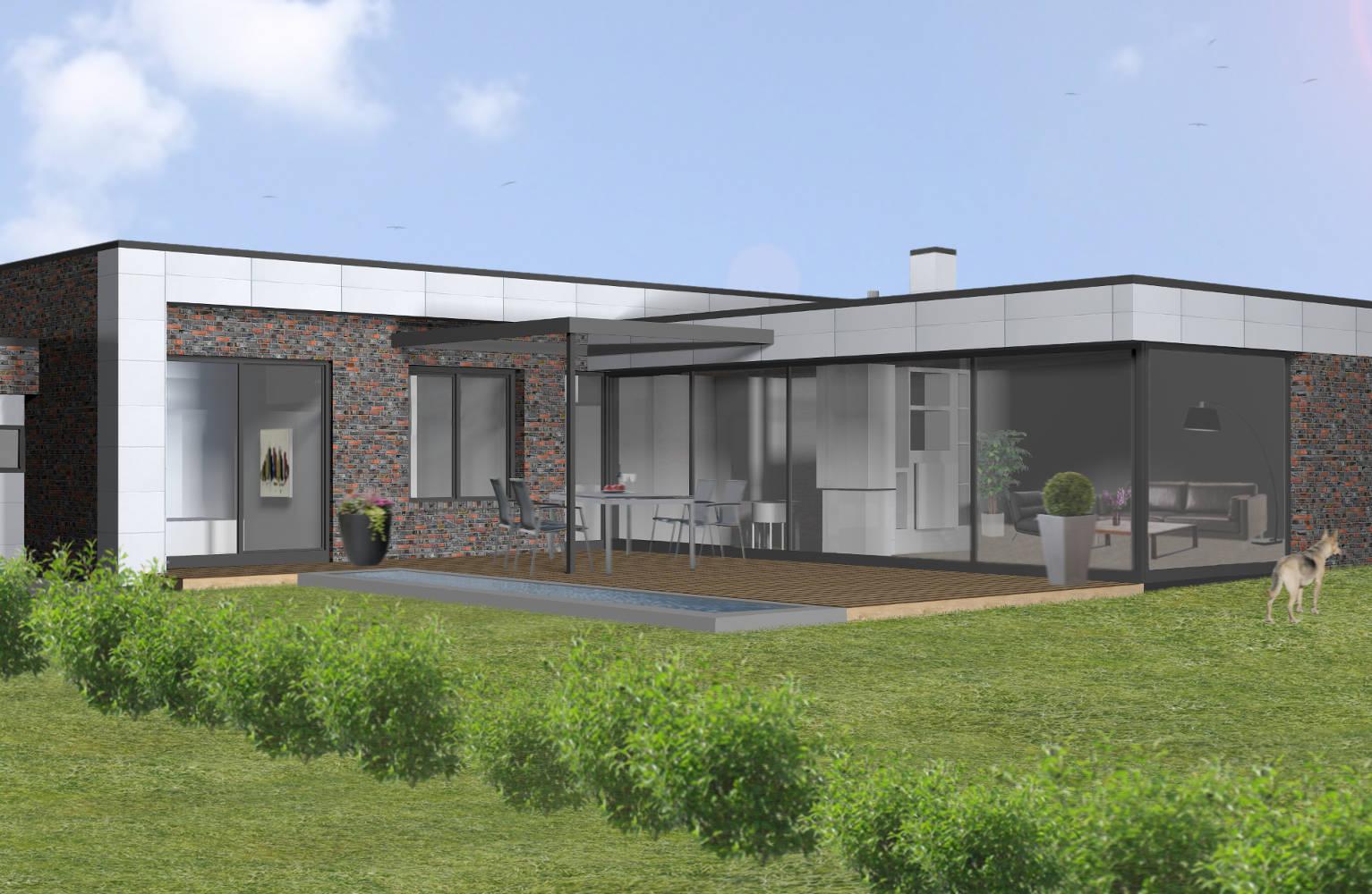 neubau eines wohnhauses az architekten. Black Bedroom Furniture Sets. Home Design Ideas