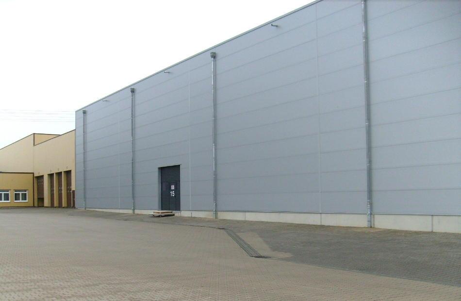 Neubau Einer Kühllagerhalle