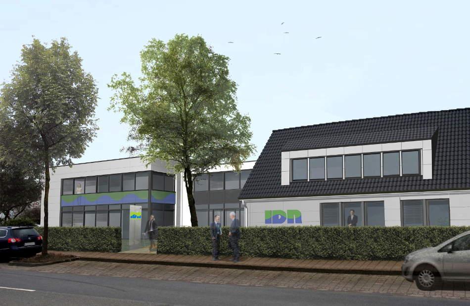 Neubau Eines Bürokomplexes